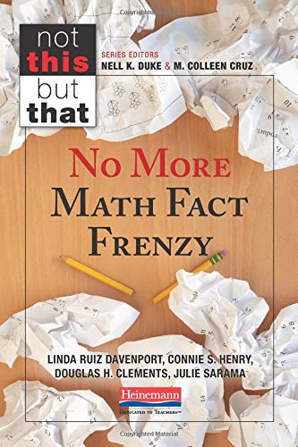 No More Math Fact Frenzy -