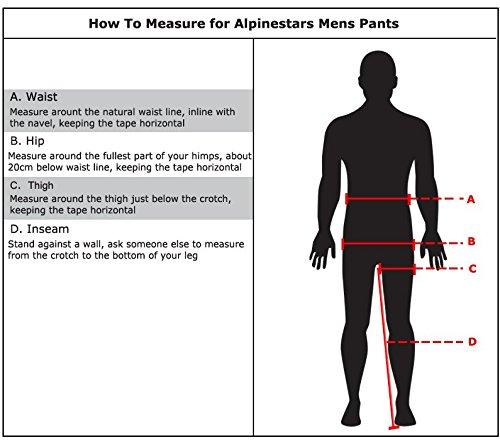 BLACK LARGE Alpinestars Andes Drystar Pants