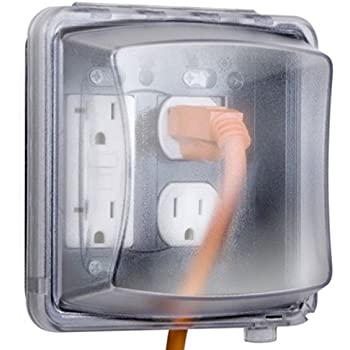 Taymac MM710C Weatherproof Single Outlet Cover Outdoor Receptacle