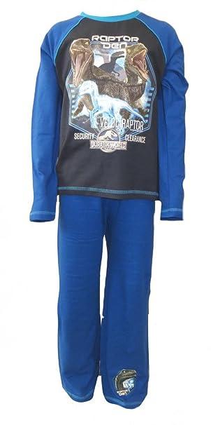Jurásico mundo de los muchachos Raptor pijamas 4-5 años
