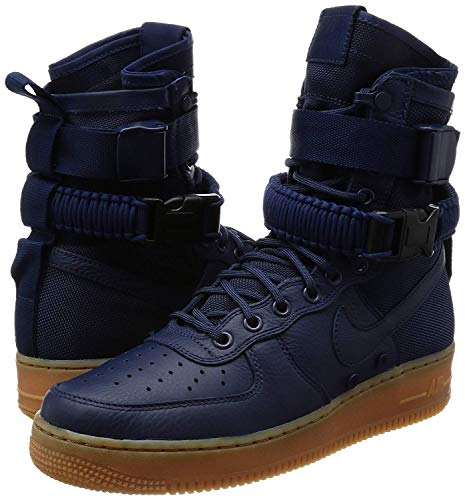 Nike Sf Af1 High Men's Boots, Blue, Size 8.5