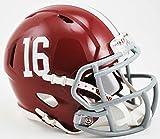 NCAA Alabama Crimson Tide Speed Mini Replica Helmet, Red, Small