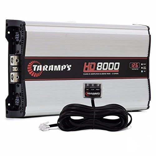 New Taramps HD8000 HD 8000 Watt 12.6V 2 Ohm Car Audio Compet