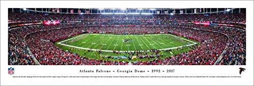 Atlanta Falcons Picture Frame - Atlanta Falcons - Final Game at Georgia Dome - Blakeway Panoramas Unframed NFL Posters