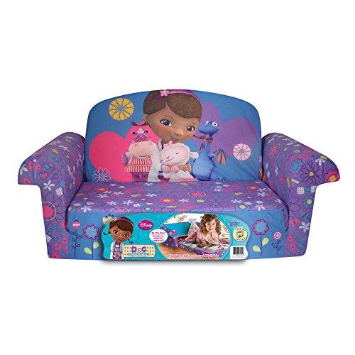 Marshmallow Furniture Disney Doc McStuffins Flip Open Sofa. Doc McStuffins Furniture for the Playroom and Home   WebNuggetz com