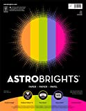 Astrobrights Color Paper, 8.5' x 11', 24 lb/89 gsm,'Joy' 5-Color Assortment, 500 Sheets (91414)