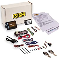 Complete Remote Start with Keyless Entry Kit For 2006-2011 Mercury Milan - w/Bypass Module - (2) 5 Button 1 Way Remotes