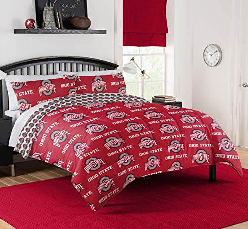 Northwest NCAA Ohio State Buckeyes Queen Bed in Bag Set #741691637