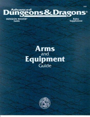 Arms & Equipment Guide (AD&D 2nd Ed Rules Supplement, DMGR3)