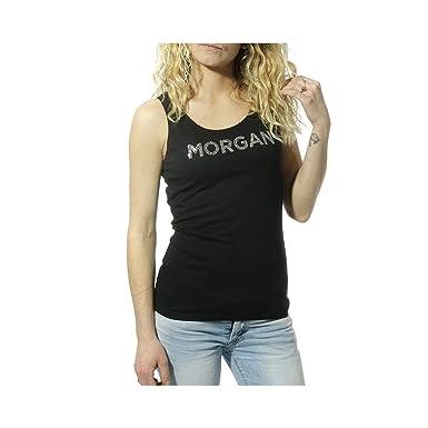01a2fd40b4049 Morgan Dcloud Femme Débardeur Noir: Amazon.fr: Vêtements et accessoires
