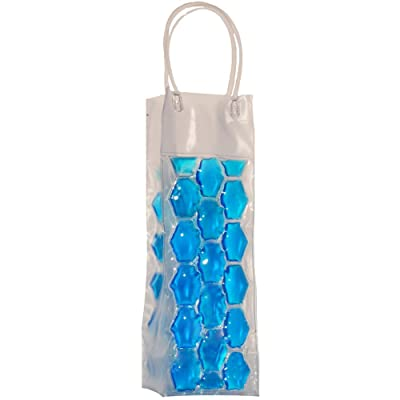 Chill It 1 Blue - Freezable Chill It Bottle Bag : Picnic Basket Accessories : Garden & Outdoor