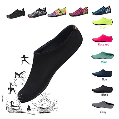 Water Shoes for Women HLM Barefoot Running Aqua Socks Quick-Dry Mutifunctional Lightweight for Swimming Surfing Beach Walking Garden, Boating