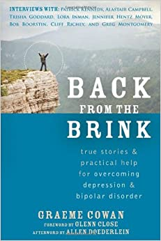 Learn more about the book, Back from the Brink: True Stories & Practical Help for Overcoming Depression & Bipolar Disorder