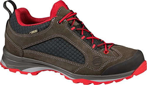 Hanwag Men's Barcas GTX Low Rise Hiking Shoes Dark Grey qCBIj