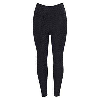 a1244bcbe465c ABASSKY Casual Fashion Workout Leggings Fitness Sports Gym Running Black  Yoga Athletic Pants V Cut for