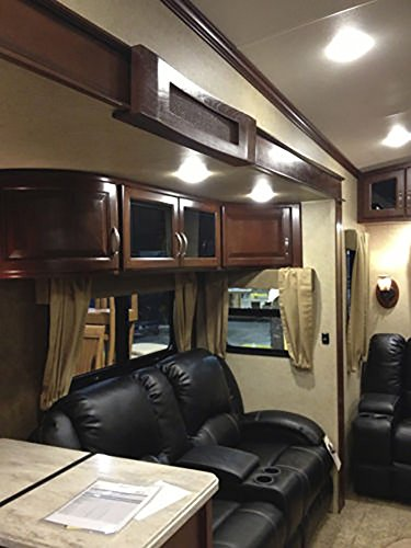 5 pack of new 4 5 led 480 lumen recessed interior ceiling lights for rvs auto boats 12v. Black Bedroom Furniture Sets. Home Design Ideas