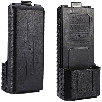 AOER 6 x AA Battery Case for Baofeng UV-5R UV-5RA UV-5RB UV-5RE Plus Radio