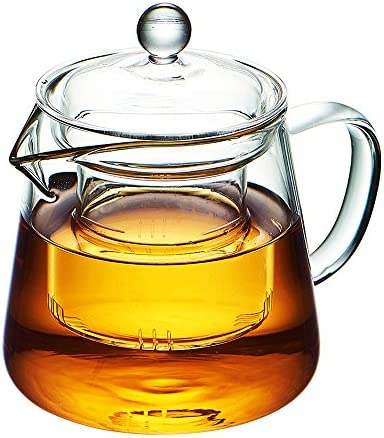 WarmCrystal Borosilicate Teapot Coffee Teakettle