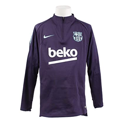 7982b9f3726 Amazon.com   NIKE 2018-2019 Barcelona Drill Training Top (Purple Dynasty)    Sports   Outdoors