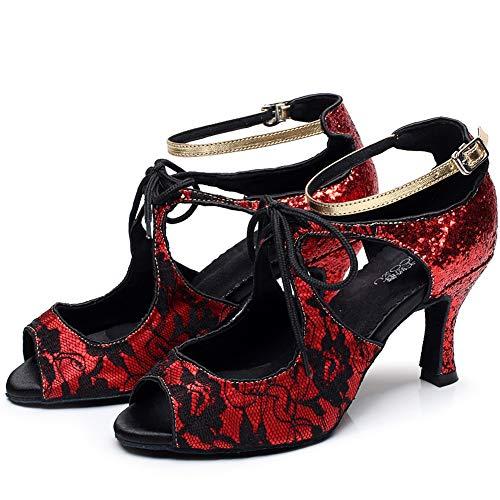 Tacón De Baile Reddanceshoes Xiaoy Alto Personalizables Danza Latino Mujer Personalizado Zapatos O0qt6AwWaE