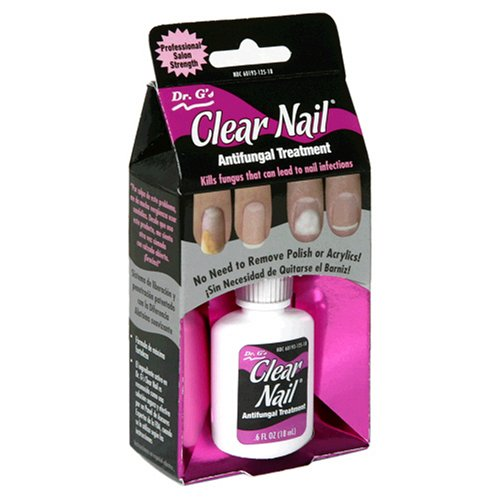 Dr. G's Clear Nail Antifungal Treatment, 0.5-Ounce Bottles (Pack of 2) by Dr. G's
