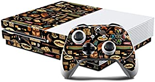 product image for Gone Fishing Protector Skin Sticker Compatible with Microsoft Xbox One S Console and Controller Kit - Ultra Thin Protective Vinyl Decal Wrap Cover