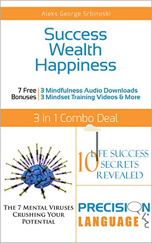 Download Success Wealth Happiness 3 books in 1 Set: Develop Success Habits, Make More Money and Become an Unstoppable Optimist (60 Minute Success Series) Pdf
