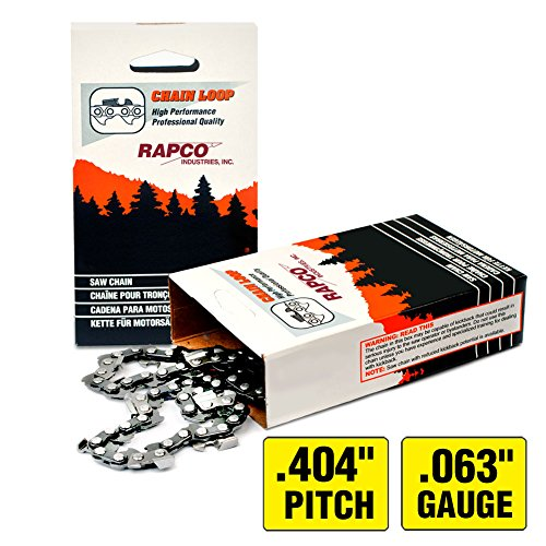 RAPCO 20'' CHAIN LOOP (.404 X .063) CHAMFERED 65 DL by WoodlandPRO