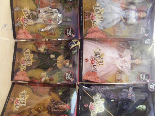 6 Box Set of the Wizard of Oz 50th Anniversary Barbie Doll Collection ()