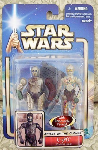 - Star Wars Attack of the Clones (AOTC) Action Figure - C-3PO Protocol Droid
