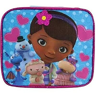 Image Unavailable. Image not available for. Color  Disney Junior Doc  McStuffins and Friends Insulated Lunch Bag Tote 2bd704e6f34