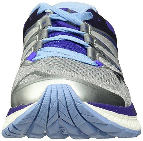 Purple Saucony Shoe Women's 4 Iso Grey Running Hurricane Blue 4r4w8qH
