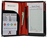 The Ultimate Server Book by Angry Server. A Waiter or Waitress Best Friend for Organization. 8 Pocket Design Including Zipper Pocket and Pen Loop To Help All Professional Servers