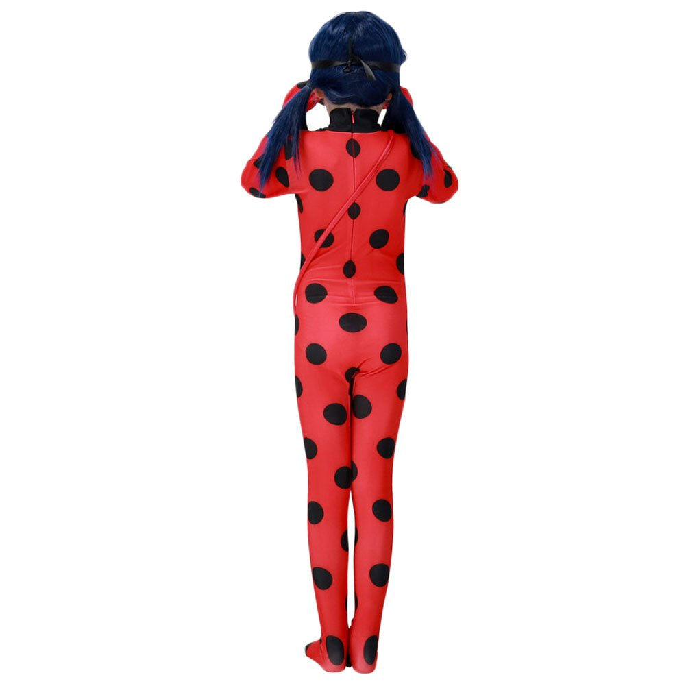 Da Mai Halloween Cosplay Ladybug Kid Costumes Chlid Little Beetle Suit