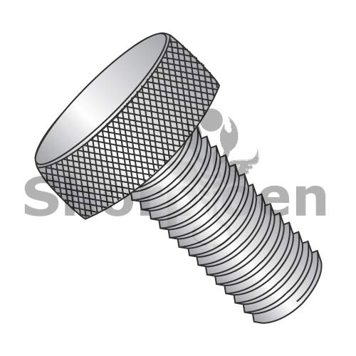 SHORPIOEN Knurled Thumb Screw Full Thread 18 8 Stainless Steel 10-32 x 9/16 BC-1109TK188 (Box of 50)