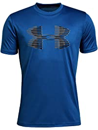 902191ac11 Under Armour Boys' Tech Big Logo Solid T-Shirt