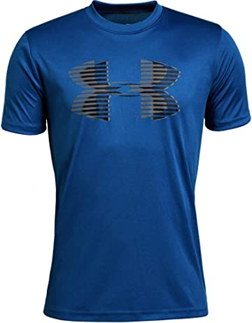 3fe2895bbfa0 Under Armour Boys  Tech Big Logo Solid T-Shirt
