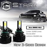 80W All-in-One 360° LED Headlights - Cool White 6000K 6K - High Beam - Super White - 8,000 Lm - 9005 / HB3