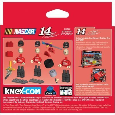 - K'Nex 14 Office Depot Pit Crew