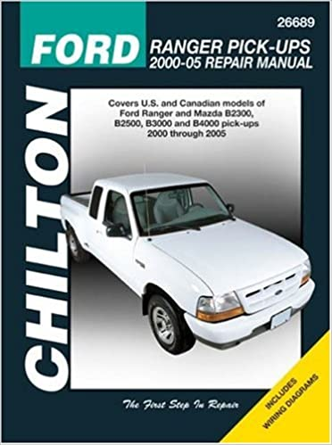 ford ranger pick-ups 2000-2005 (chilton's total car care repair manuals)  1st edition