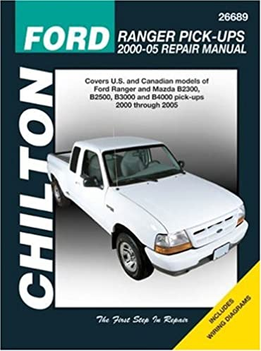 ford ranger pick ups 2000 2005 chilton s total car care repair rh amazon com Ford Ranger Cargo Cover Ford Ranger Truck Cover