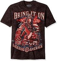 The Mountain Backbone of America Adult T-Shirt, Black, Medium