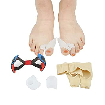 Bunion Corrector & Bunion Relief Protector Sleeves Kit - Hallux valgus Thumb Toe Correction,Toe