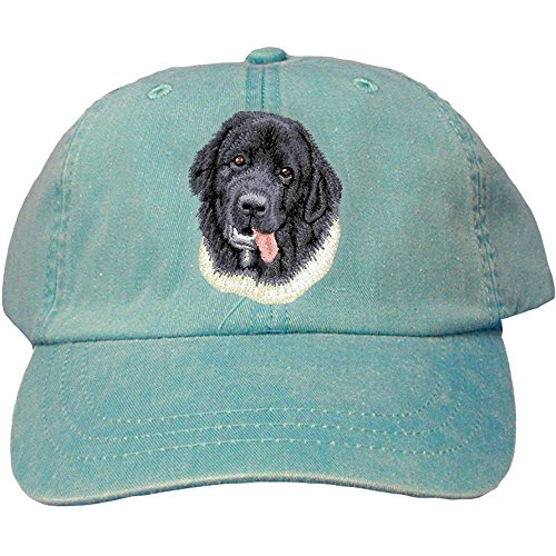 Cherrybrook Dog Breed Embroidered Adams Cotton Twill Caps - Caribbean Blue - ()