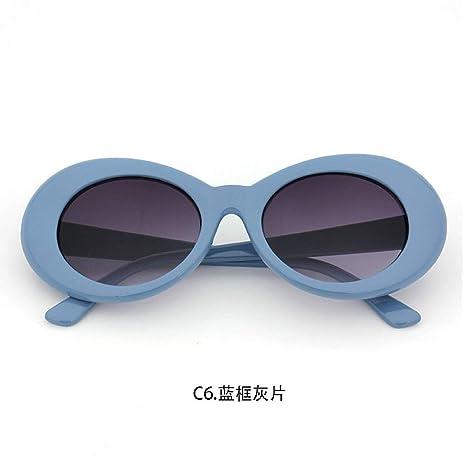 Yangjing-hl Gafas de Sol Gafas de Sol Moda Hombres y Mujeres ...