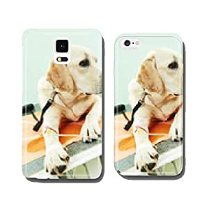 ladrador dog under vaccination in clinic cell phone cover case Samsung S6