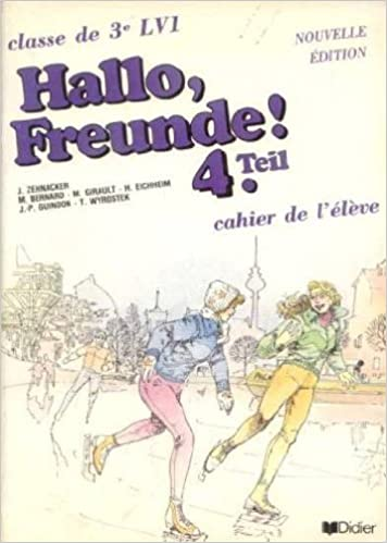Livre gratuits Hallo  Freunde ! 3e LV1. Cahier de l'élève pdf ebook