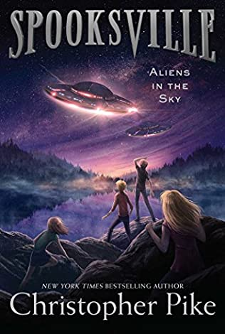 book cover of Aliens in the Sky