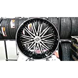 "26"" INCH VELOCITY VW865 WHEELS RIM &TIRE PACKAGE CHEVY GMC FORD CADILLAC LINCOLN"