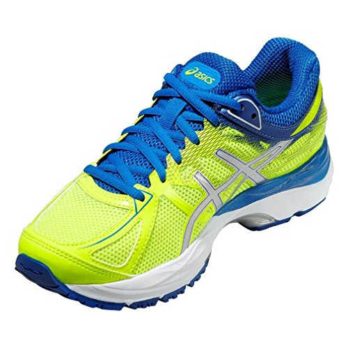 Chaussures Blu 17 Argento Asics C562N0736 Cumulus Gel Flash Running Elettrico Yellow Giallo BFx6H1Y